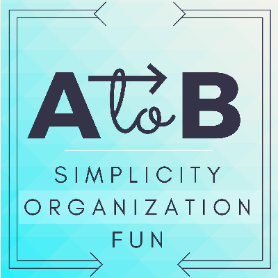 Join hosts, Autumn and Bethany, as they navigate the quest for simplicity, organization, and fun. Professional organizer, Autumn, shares her trademark style of making even the trickiest organizing dilemmas feel manageable and within reach. Each episode, A to B podcast dives into the world of organizing through interviews, tips, listener questions, and monthly challenges.