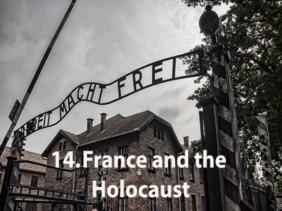 Cover art for France and the Holocaust #14