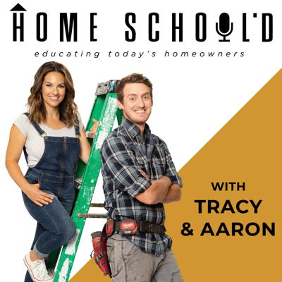 """At Home Schooled, we know that becoming a homeowner changes your life in a big way- and we're here to help! Our show was created to educate and empower today's homeowner, so you can tackle every aspect of your home with confidence.   Whether you're a DIYer or prefer to let someone else tackle the work, we'll give you the knowledge you need to turn your house into the home of your dreams...even if it means going through a few nightmares to get there.  Every week hosts Aaron Massey and Tracy Pendergast will introduce you to a guest instructor, who will walk your through an aspect of home ownership. Consider this """"Adulting 101"""