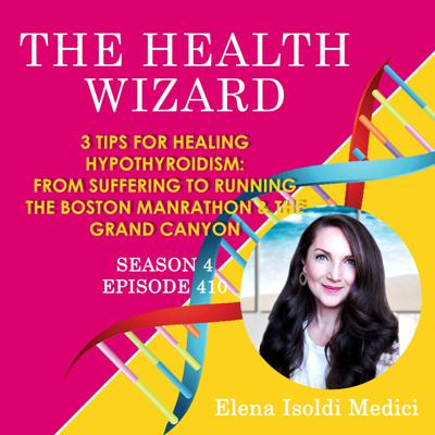 Cover art for 410 - 3 POWERFUL TIPS FOR HEALING HYPOTHYROIDISM NATURALLY