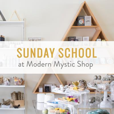 Every Sunday listen in on weekly live metaphysical classes hosted at Modern Mystic Shop in Atlanta, GA. Wellness experts and spiritual teachers share powerful information to help you connect with your inner power and intuition. You'll also hear helpful Q&As with the live audience in attendance. For more information visit www.modernmysticshop.com.