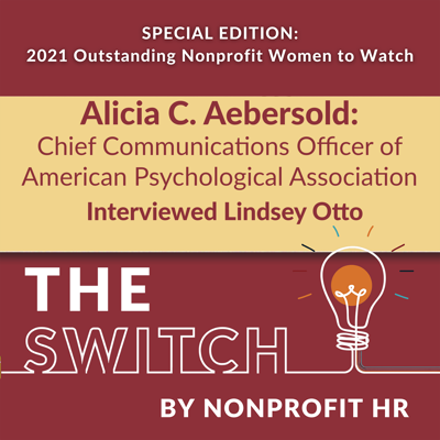 Cover art for Women to Watch 2021: Alicia C. Aebersold Interviewed by Lindsey Otto