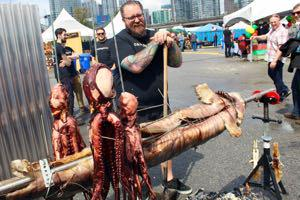 Cover art for BBQ Secrets Episode 23 - Canadian Jerk, Craziest Basting Brushes Ever, and Nudism, Rockin' Ronnie Style