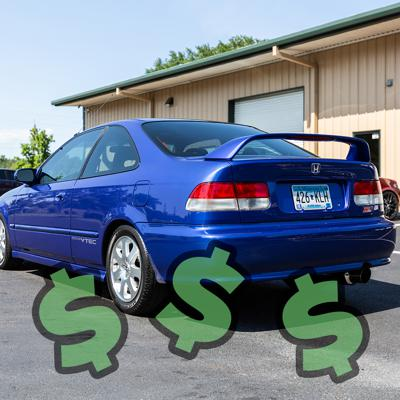 Cover art for Tommyfyeah Swings By To Talk About The Most Expensive Civic Build Ever