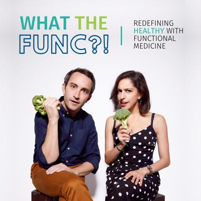 """What the func is Functional Medicine? How can it help you eat what your body actually needs, lose weight, and get healthy? Lower your stress level, improve your mental health, and help you thrive, mind, body, and soul? On the What the Func?! Podcast, we're redefining HEALTHY by questioning the healthcare status quo with all the curiosity, science, and fun we can muster. Our brilliant hosts are Laura Schein, a Functional Medicine Certified Health Coach and longtime health nut, and Clayton Farris, a former """"garbage human"""" (his words!) who discovered this new way to heal when conventional medicine let him down. Each episode, they dig into new, trending, and sometimes controversial topics in Functional Medicine, and with the help of the doctors and changemakers who stop by to share their expertise, they discover new and better ways to be healthy, from the brain to the gut and beyond. Have a listen and join us in asking """"What the Func is Functional Medicine?!""""  What the Func?! is created by The Functional Medicine Coaching Academy. https://functionalmedicinecoaching.org"""