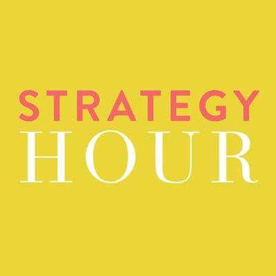 "Get actionable strategies and killer marketing tips to grow your creative business inside The Strategy Hour podcast. Say goodbye to the ""side-hustle"" mindset and hello to getting paid (and paid well) to do what you love. Your hosts Abagail Pumphrey and Emylee Williams from Think Creative Collective share all the ins and outs of their experience growing a successful 6-figure online business. You'll hear from some pretty amazing entrepreneurs like David Siteman Garland of the Rise to the Top, Nathan Barry of ConvertKit, Natalie Franke of the Rising Tide Society, and Ankur Nagpal of Teachable. These in depth interviews go straight to the meat and potatoes (a.k.a. Actionable steps you can take away and use in your business today). Our episodes cover a wide range of topics, including growing an online audience, email automation, diversifying your products and offers, generating more sales online, social media, outsourcing, affiliate marketing, productivity, systems, and how to treat your passion like the real business it is. It's time to become a total creative BOSS! Find show notes and resources at thestrategyhour.com."