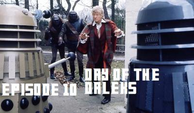 Cover art for Day of the Daleks w/ Sage Young!