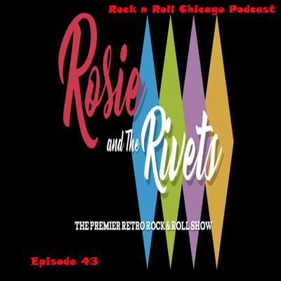 Cover art for EP 43 Rosie and The Rivets