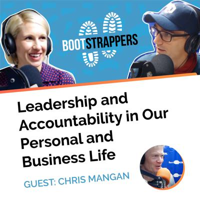 Cover art for Bootstrappers fr. Chris Mangan: Leadership and Accountability in Our Personal and Business Life