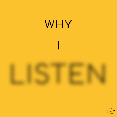 In Why I Listen, we explore the concept and qualities of listening − what happens in us when we truly listen and what makes us feel listened to. What is good listening? With the help of various guests connected to therapy, arts, teaching, communication, etc, we will explore different perspectives and levels of listening − How do we listen deeply? How do we listen to ourselves and others? Which part of us is listening in a given circumstance? We will dive into the secrets of communication and relationship and gain more insight on this beautiful quality.