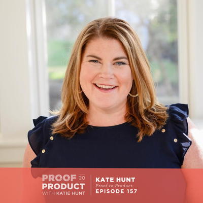 Cover art for 157 | How Do I Pay Myself As A Business Owner with Katie Hunt