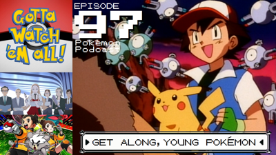 Cover art for Get Along, Young Pokémon