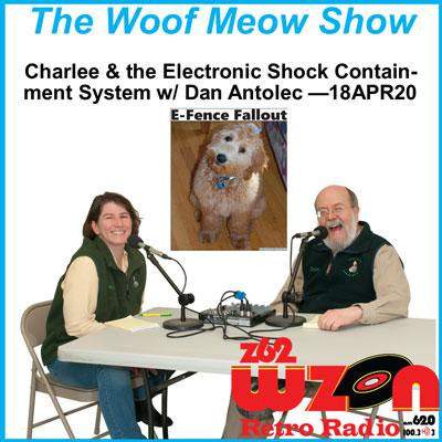 Charlee and the Electronic Shock Containment System w-Dan Antolec