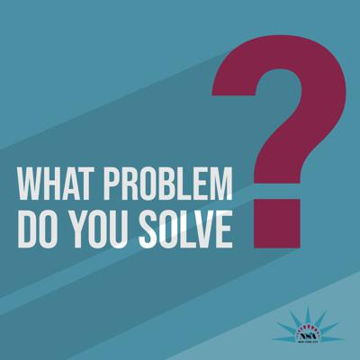 What Problem Do You Solve? is the new podcast from the National Speakers Association's New York City chapter.   Each episode features a conversation with a leading speaker, trainer, or consultant who explains how he or she tackles a complex problem in business, politics, health and fitness, and more.  No matter what challenge you're facing, each episode will provide at least one valuable insight that will enrich your professional or personal life.