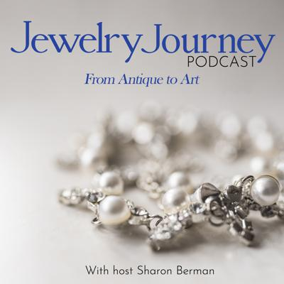 Cover art for Episode 74: Yes, it' Real.. Jewelry in plastic! Cara Croninger's jewelry journey from her daughter's perspective with introduction from Lisa Berman