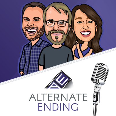 Alternate Ending was formed when three friends realized they all shared a passion for movies.  Our goal is to save you time and money by sharing our thoughts and recommendations on which movies to race to theaters for, which to watch at home and those to actively avoid.   What makes Alternate Ending different from other film podcasts? Well, we're not 5 dudes in a room talking about our passion for Fight Club and Braveheart.  We're two dudes, and a lady, of which our tastes are quite varied.  Rob, the film-school dropout, has seen an absurd amount of movies, and if we're being honest, rounds out our Fight Club fan-base.  Tim Brayton, our seasoned film critic, shares a more critical view of film, an appreciation for vintage cinema and perhaps limited-release movies that we might otherwise miss. Carrie, our casual movie-goer, reminds us all that cinema is in fact supposed to be fun and entertaining and that sometimes, just sometimes, happy endings are good.   Too many film sites cater to the same kind of audience, with one overwhelming voice in the writing, but what we treasure at Alternate Ending is diversity: diversity of opinion, diversity in belief about what film should do and how it should do it. We want to celebrate our different opinions, and celebrate yours as well.   This isn't a podcast for people who just want to talk about the latest hot new movies in theaters right this minute. This is a place for people who can't get to the theater until the third week a film is out; a place for people who just want to find something great to stream online after the kids have gone to sleep, a place for people whose favorite pastime is to grab a bunch of classic films on DVD from the library and watch them all weekend. It's a place that believes that every great movie is a wonderful new treasure, whether you see it the night of its premiere or fifty years later. It's a site about discovering good movies... one bad movie at a time.  Join us for our weekly review of movies worth seeing, worth avoiding and our Top 5 lists – and don't forget to play along at www.alternateending.com.