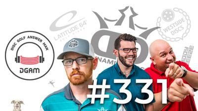 Cover art for Professional Matchplay, Disc Golf on CBS in the Future, & more on DGAM Ep 331!