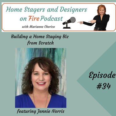 Cover art for Building a Home Staging Biz from Scratch