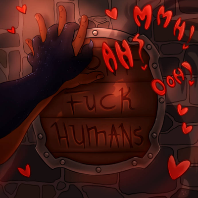 Cover art for Fuck Humans episode 3 (mature warning - this can get sexy!)
