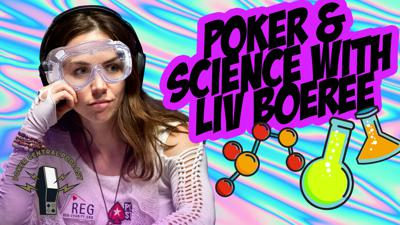 Cover art for Ep. 184 Poker & Science with Liv Boeree