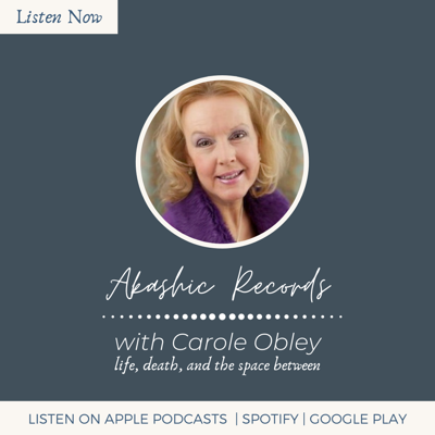 Cover art for Akashic Records with Carole J. Obley