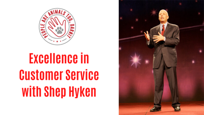 Cover art for Episode 13 - Excellence in Customer Service with Shep Hyken