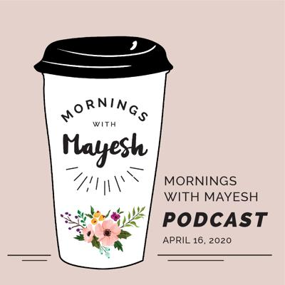 Cover art for Mornings with Mayesh: Designer Panel Discussing COVID-19