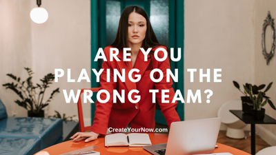 Cover art for 2446 Are You Playing on the Wrong Team?