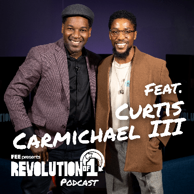 Cover art for #21 Marketer and Millennial Entrepreneur, Curtis Carmichael III, on How to Live Freely Amongst the Constraints of the World