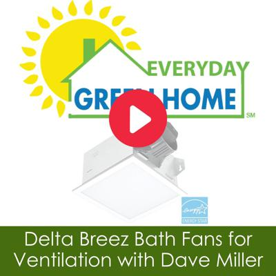 Cover art for Delta Breez Bath Fans for Ventilation with Dave Miller