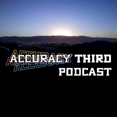 Accuracy Third is a collection of stories from participants of Burning Man. Your hosts Rex, D-Day, and editor Beth compile, comment upon, and share your tales of dusty adventure. Featuring in-studio interviews as well as submitted content, Accuracy Third attempts to create a record of the ephemeral magic of our annual art party. Listen and share your stories at accuracythird.com