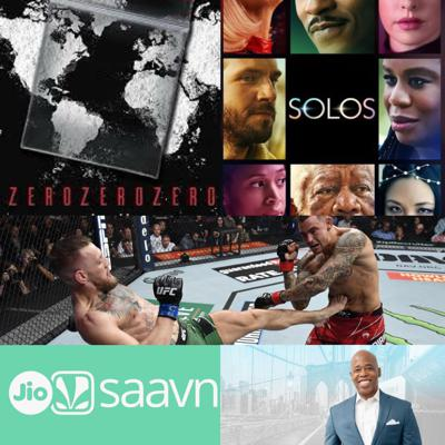 Cover art for #185 – Two Amazon Originals, an MMA event, Podcast News & NYC Elections