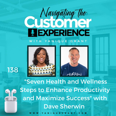 Cover art for 138: Seven Health and Wellness Steps to Enhance Productivity and Maximize Success with Dave Sherwin