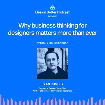 Cover art for Why business thinking for designers matters more than ever