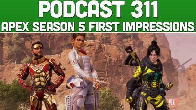 Cover art for Podcast 311: Apex Season 5 First Impressions