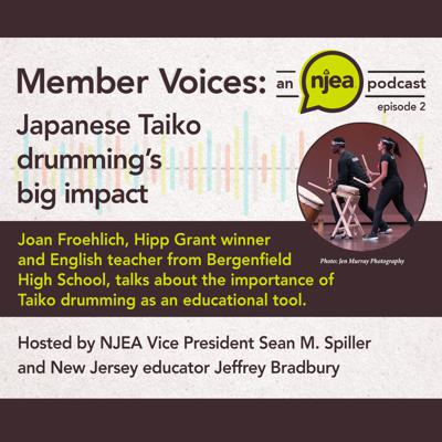 Cover art for Japanese Taiko Drumming's Big Impact