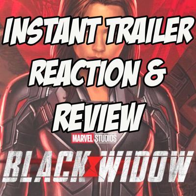Cover art for Black Widow - Trailer Reaction & Review
