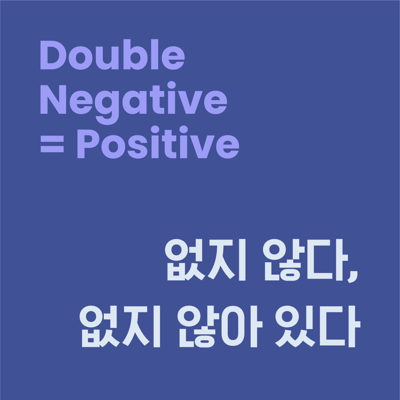 Cover art for Level 10 Lesson 29 / Double Negative = Positive / 없지 않다, 없지 않아 있다
