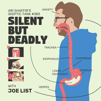 Cover art for #383: Silent But Deadly; The @JoeListComedy Story