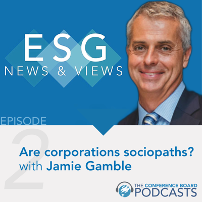 Cover art for Are corporations sociopaths?  A conversation with Jamie Gamble