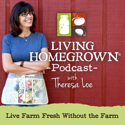 LivingHomegrown is all about Living Farm Fresh Without the Farm™. Through canning and preserving, artisan food crafting and small-space food growing, you can enjoy the flavors of the season and live a more sustainable lifestyle no matter how small of a space you call home. Hosted by TV canning expert and national PBS TV producer, Theresa Loe, this weekly podcast alternates between solo episodes and interviews with the rock stars of the DIY food movement and each episode helps you live closer to your food.