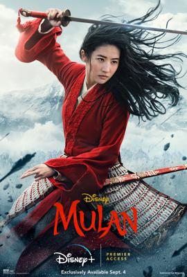Cover art for Episode 99: Mulan (2020) with Mike Recine