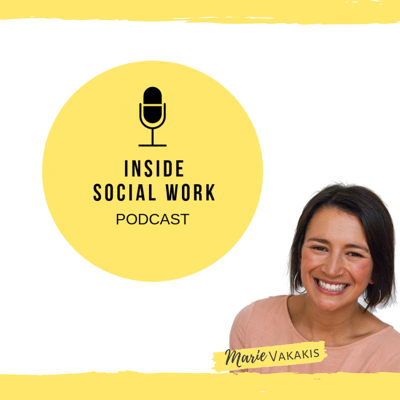 This podcast aims to inspire social workers to: Discover new areas of practice Gain insight into specialty areas and learn new skills How to combine different specialities Be motivated and inspired by hearing the stories of other social workers and not only hear about their successes but also hear about their struggles , challenges and fears Learn about some of the different fields of social work , how to work with each other and what are some of the strengths and limitations of those areas advice about how to develop your clinical skills and some of the tools you can adapt into your work Give advice on books to read and other resources And importantly self-care advice and how to reduce burn out  https://insidesocialwork.com/