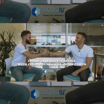 Cover art for Inside Liquid I.V.'s Office with CEO & Founder Brandin Cohen | What They DON'T See Ep: 05