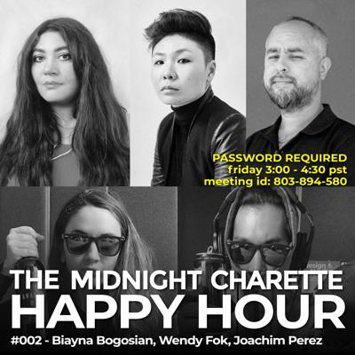 Cover art for #171 - Happy Hour with Wendy Fok, Biayna Bogosian, Joachim Perez, and Juanito Olivarria