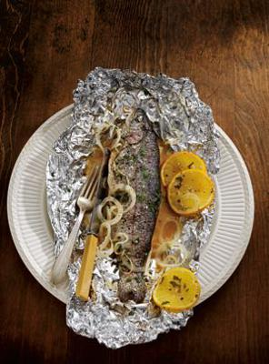 Cover art for Recipe of the week - Grilled Pink Salmon in Foil