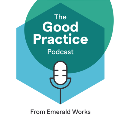The Good Practice podcast from Emerald Works is a must-listen for anyone involved in Learning and Development or Human Resources. The weekly show, featuring regular appearances from members of the Emerald Works team, plus the occasional special guest, gets right to the heart of issues affecting the L&D and HR communities. From learning needs analysis and evidence-based practice through to the impact of technology on work and hot topics at industry conferences, get critical insights into the world of work, learning and performance.