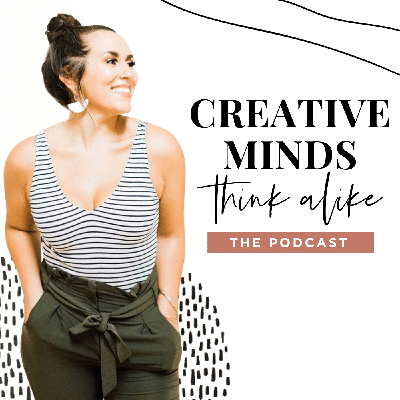 Are you a creative entrepreneur ready to take your business to the next level? Do you relate to those vulnerable, inspiring posts on Instagram and know it is time to live your truth too?  If you love your work but know there are more efficient ways to run your business and better ways to serve your clients then you're in the right place!  The Creative Minds Think Alike podcast was created by web and graphic designer Karima Creative to create a space that inspires, educates, and talks about the reality of being a creative entrepreneur (it's not all just yoga pants and working on the couch, y'all!)  This podcast shines a light on the community that supports and connects us, so we all feel a little more informed and a little less alone. We feature guest experts, talk about best practices, provide actionable tips, inspire you to dream big, and share about overcoming struggles.  It's time to get past your limiting beliefs, create the life you dream of, and make more money than ever while doing so. Join us! Because #CreativeMindsThinkAlike (and that means you, too!)  Learn more about Karima Creative at www.karimacreative.com and on Instagram @karima.creative.