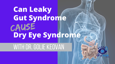Cover art for Can Leaky Gut Syndrome Cause Dry Eye Syndrome with Dr. Golie Keovan