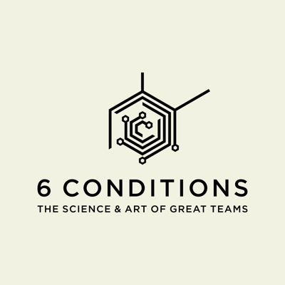 Cover art for 6 CONDITIONS #005: THE 3 ENABLING CONDITIONS - ACCELERATING A TEAM'S DEVELOPMENT INTO A BRILLIANT COLLABORATION